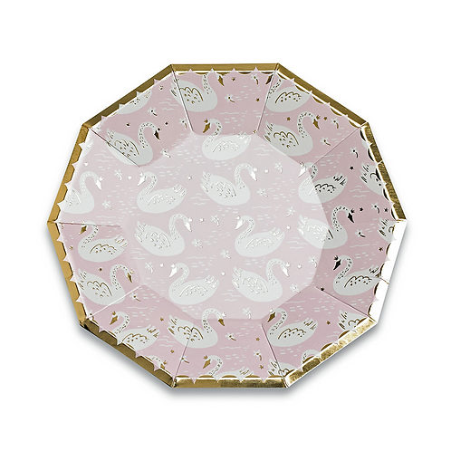 Sweet Princess Large Party Plates