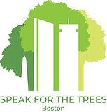 Speak for the Trees Boston logo