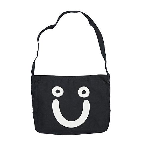 Polar Tote Bag Happy Sad Black