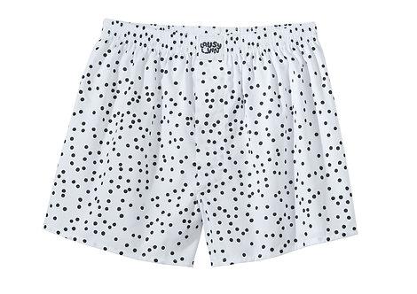Lousy Livin Boxershorts Dots White