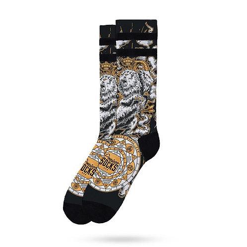 American Socks Signature Alchemy Chimera Mid High