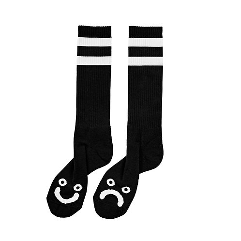 Socks - Happy Sad Black