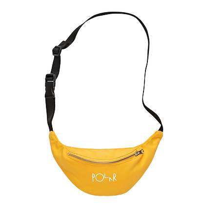 Polar Hip Bag Script Logo Yellow