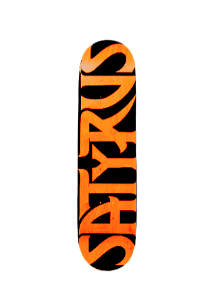 Satyrus Skateboards Team Board 8.25""