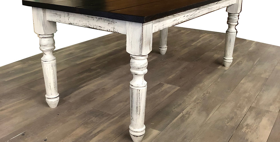 Traditional Turned Leg Table