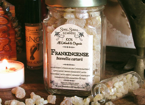 FRANKINCENSE RESIN, Blessing, Incense, Meditation, Immunity & Pain