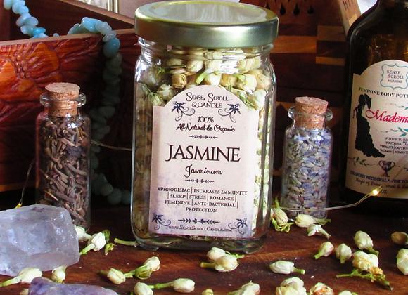 JASMINE FLOWER, Stress Management, Aphrodisiac, Protection,