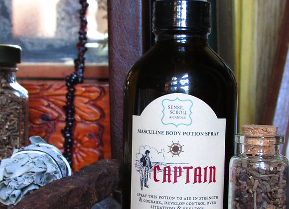 CAPTAIN, Cologne Potion, Strength & Courage, Control