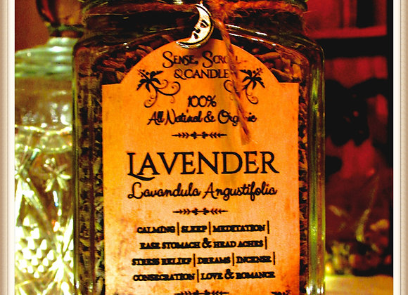 LAVENDER FLOWER, Incense, Sleep, Dreams, Love Spell