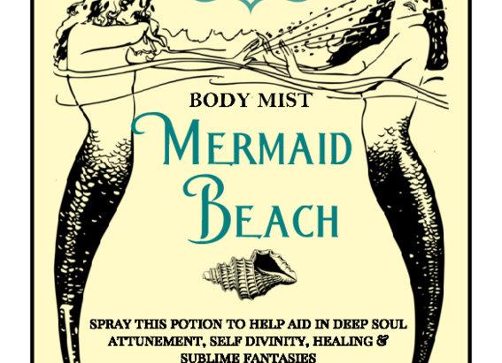 MERMAID BEACH, Perfume Potion Roll-on