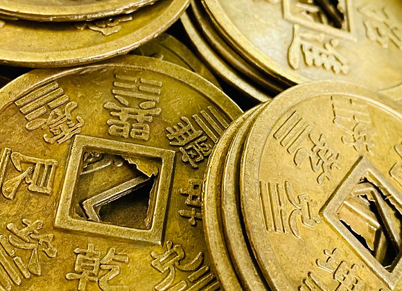 CHINESE COINS. Feng Shui. Financial Magic, Money Cures.