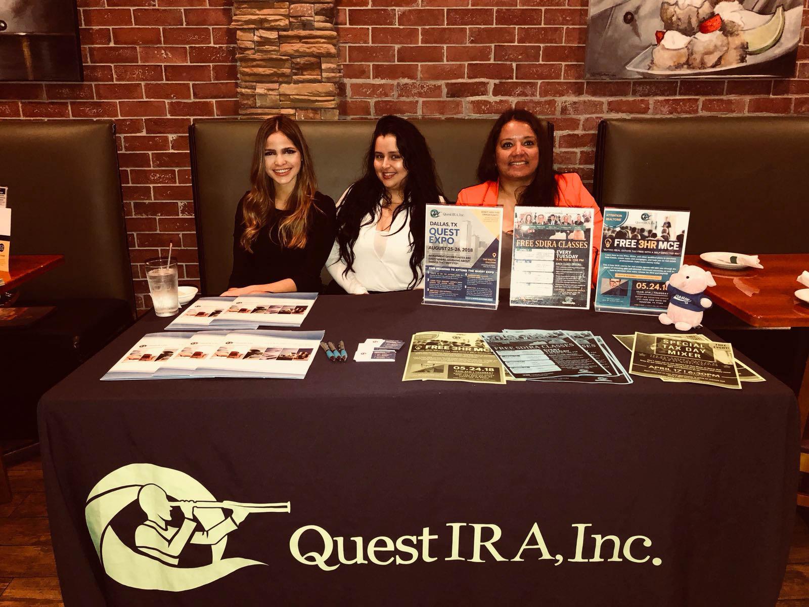 Quest IRA / Sponsor