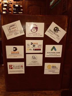 Cartelera Patrocinadores / Sponsors