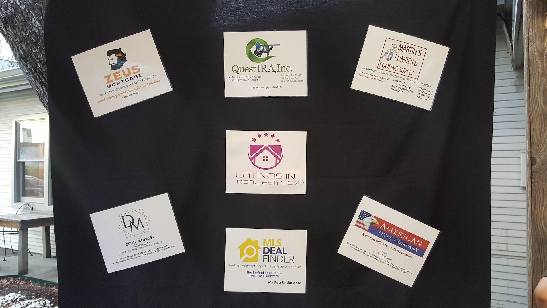 Sponsors de cada evento