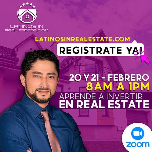 Aprende a invertir en Real Estate!