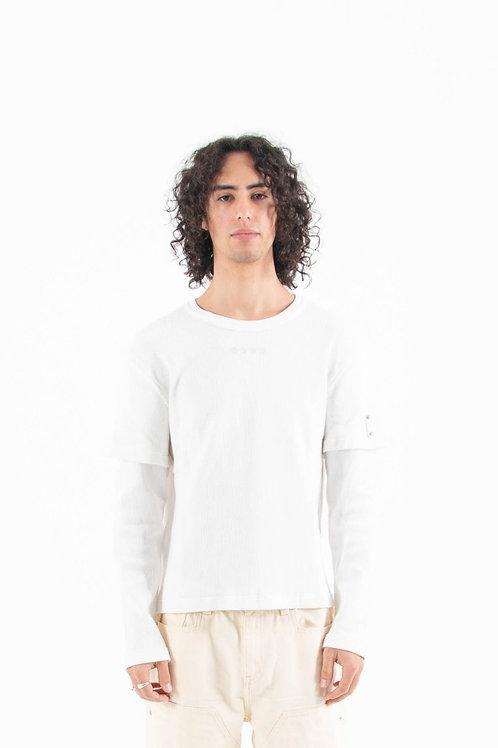 White Vertebrae Long Sleeve Shirt