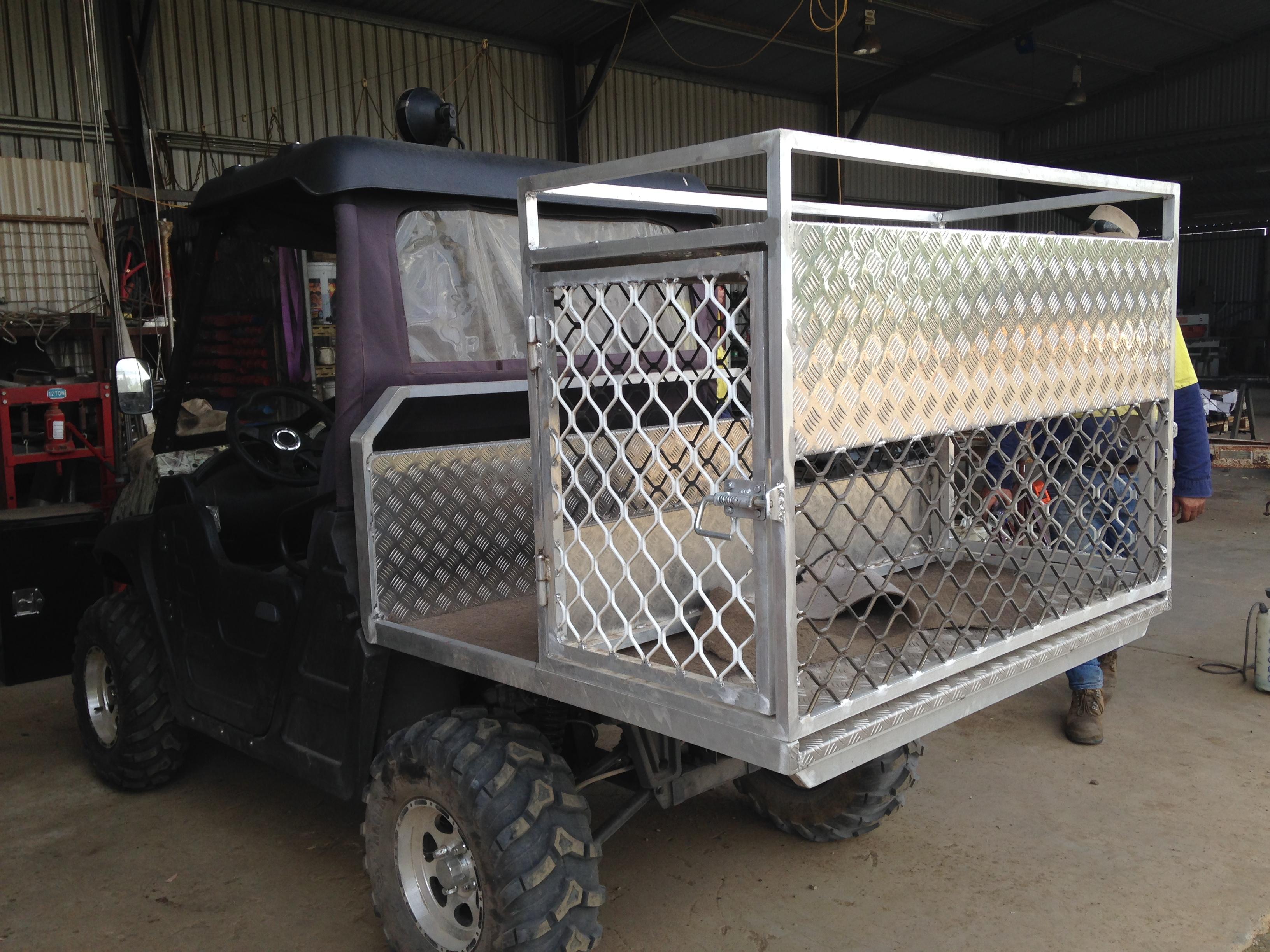 ATV Dog Box