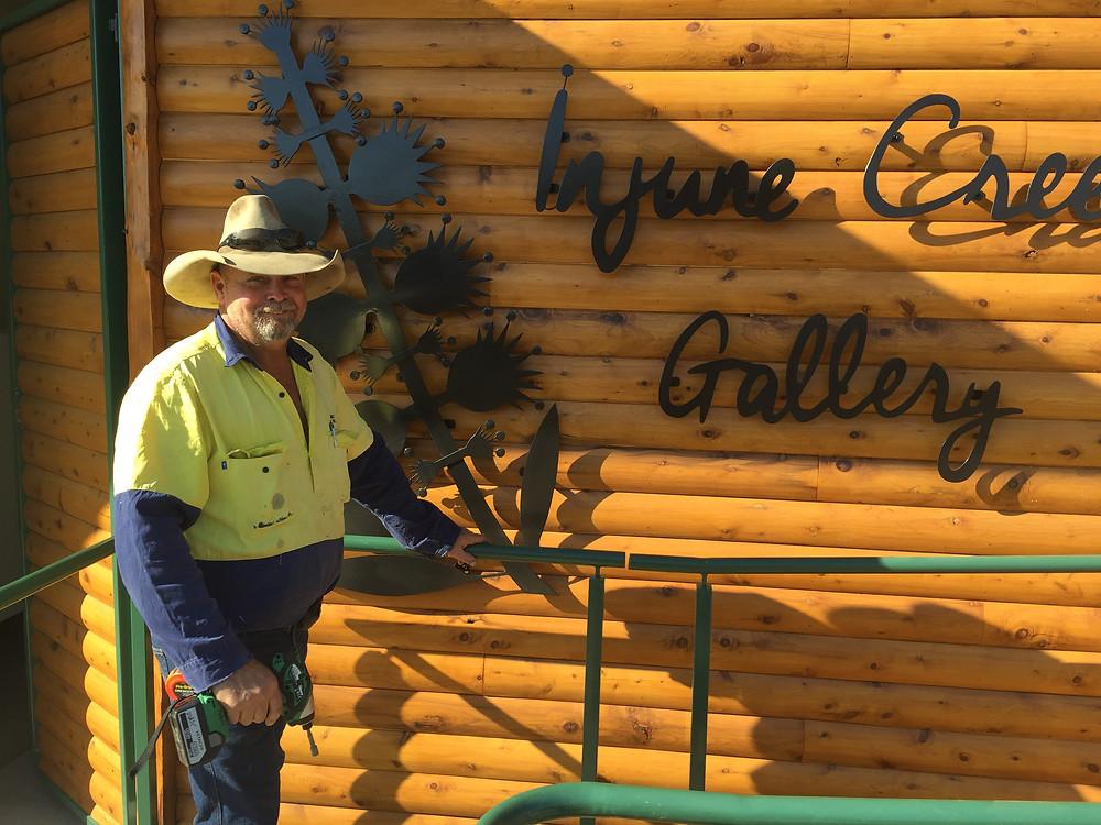 Paul Jones - Injune Creek Gallery Oct 2015