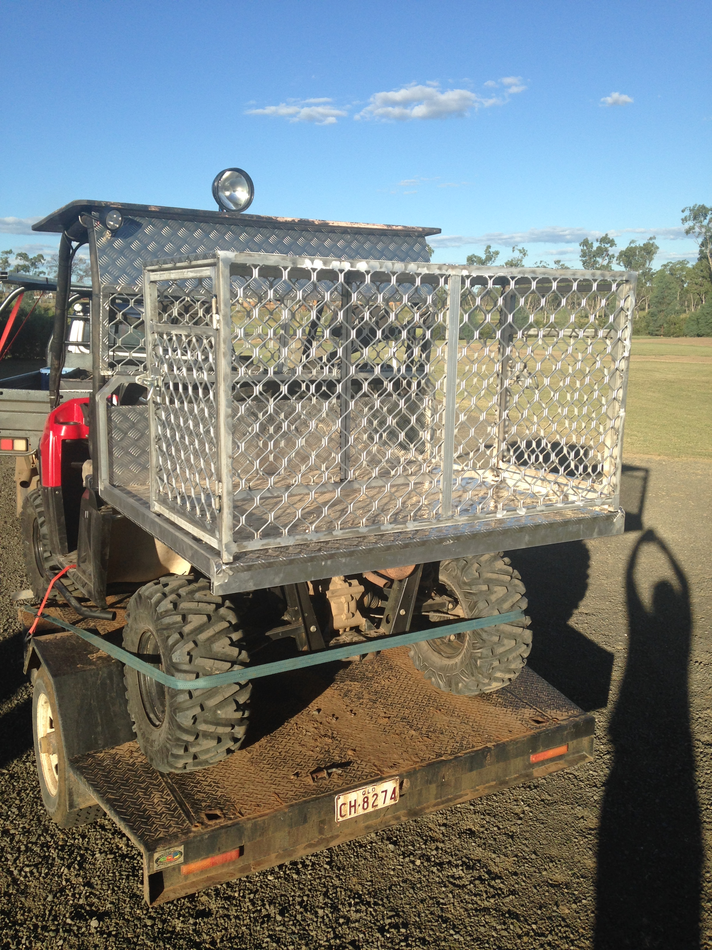 Basic ATV Dog Box