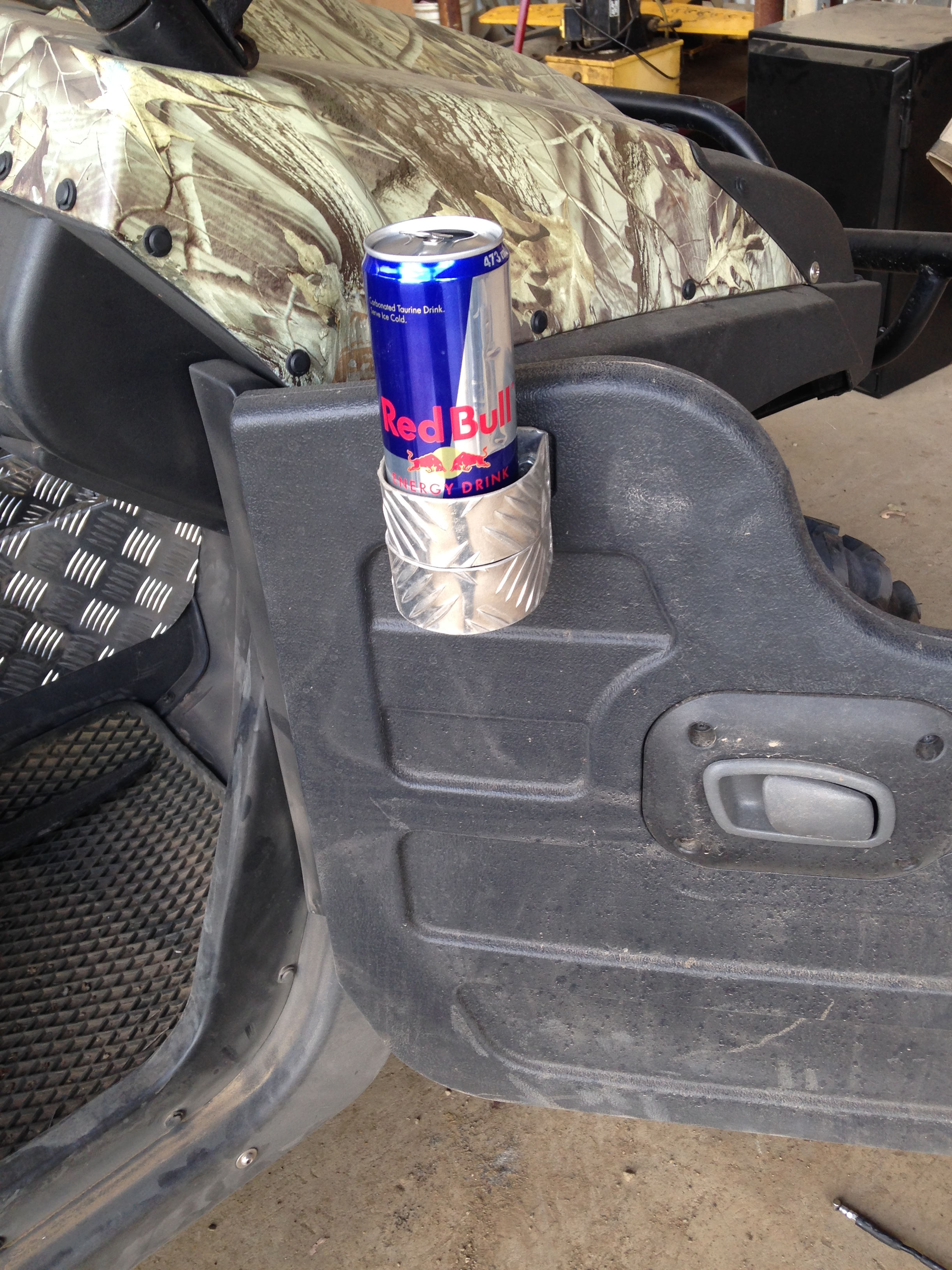Custom Modification - Cup Holders
