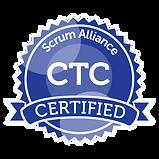 Ivo's CTC badge
