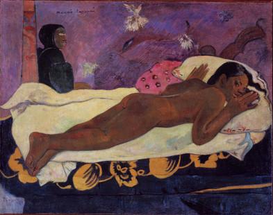Paul Gauguin - Manao Tupapau