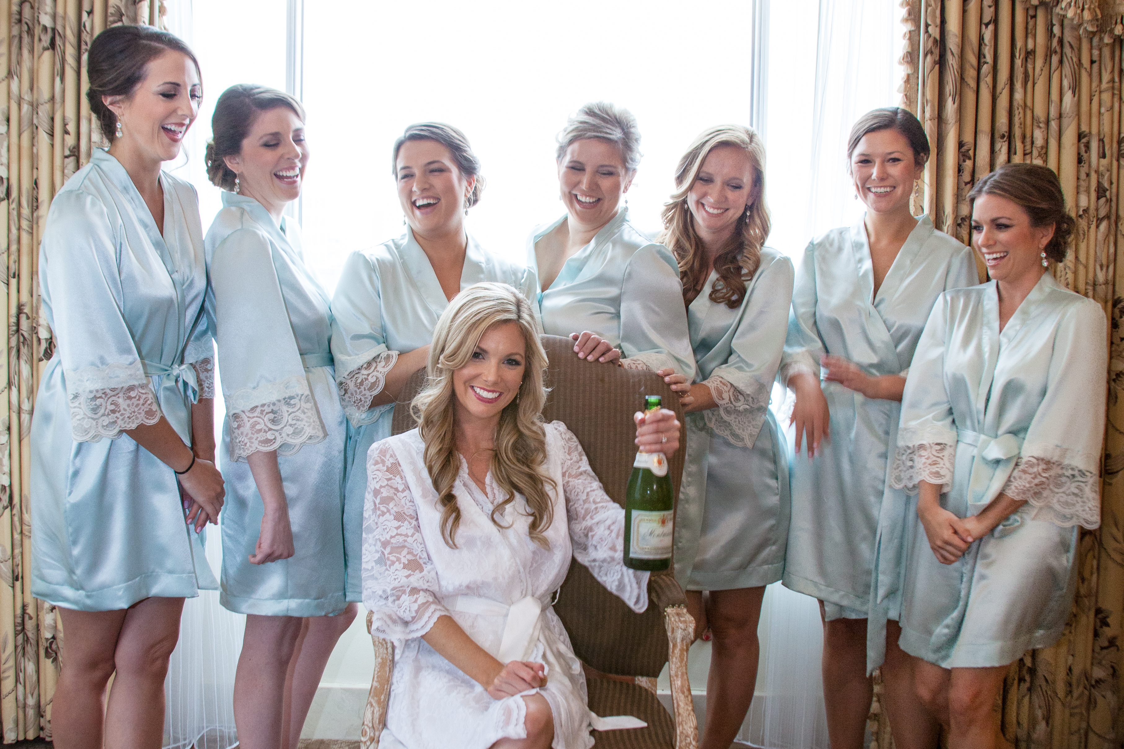 Milan & Mint Parisian Bridesmaids