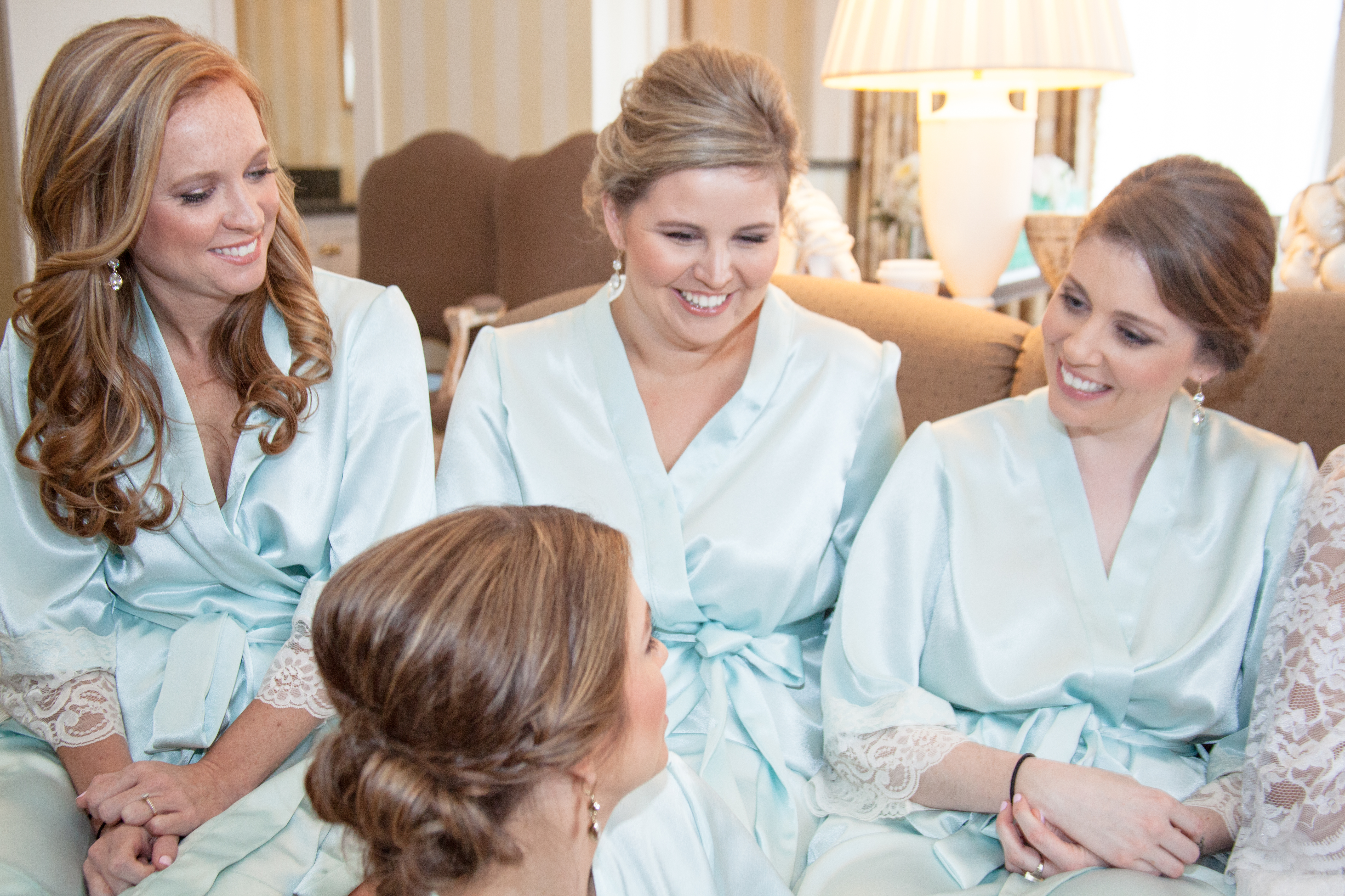 Mint Green Parisian Bridesmaids