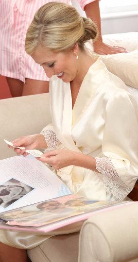 Bride wearing Sofia