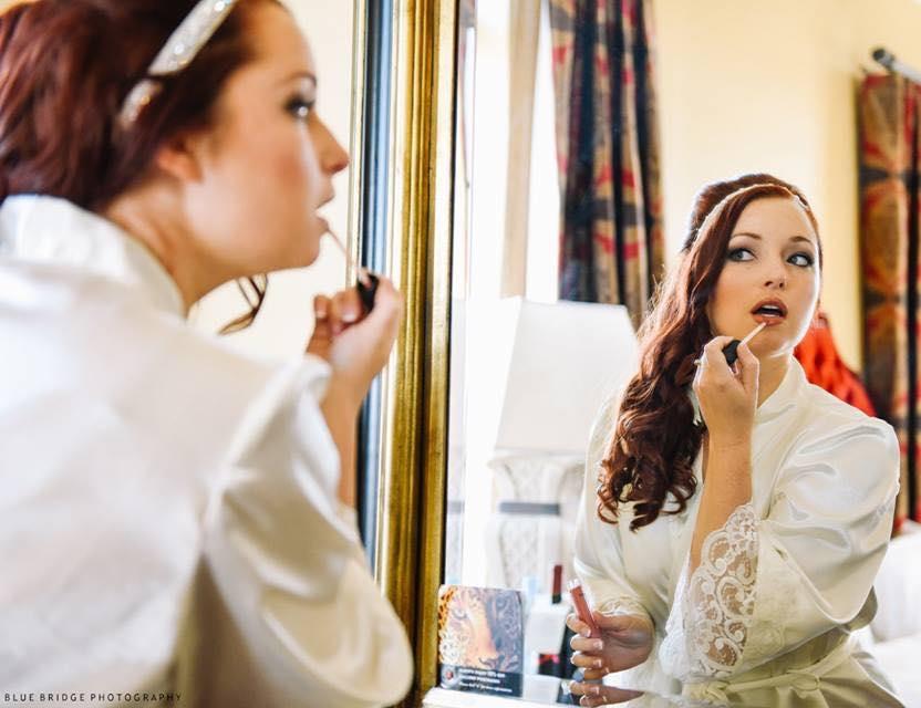 Bride wearing White Parisian