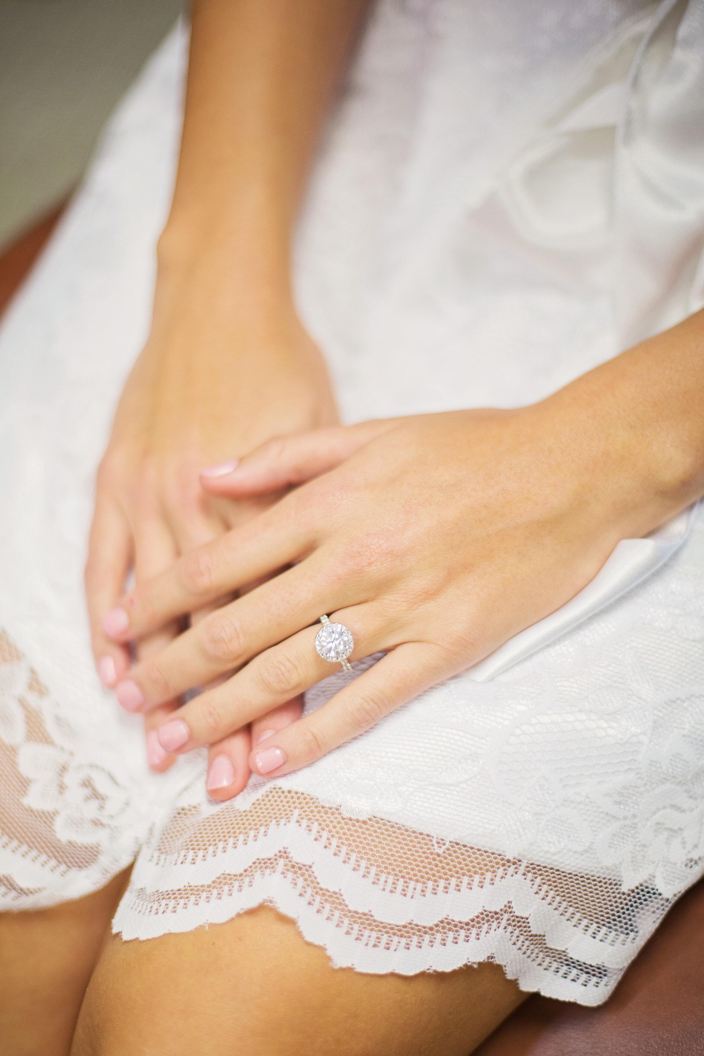 Bride wearing Milan