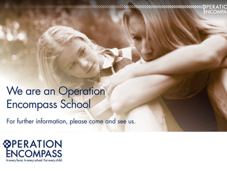 Kinver High School are part of Operation Encompass, find out more about Operation Encompass below