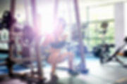 Woman Lifting Weights