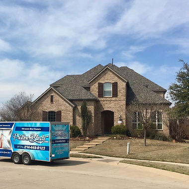 ultrasonic blind cleaning in Prosper Texas