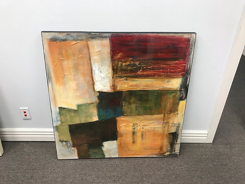 3.5'x3.5' Canvas Painting