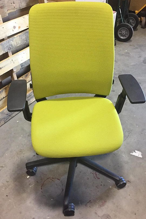 Green Steelcase Office Chair