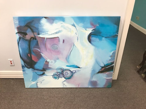 4'x4' Canvas Painting
