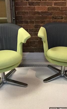 (2) Steelcase i2i Lounge Chair