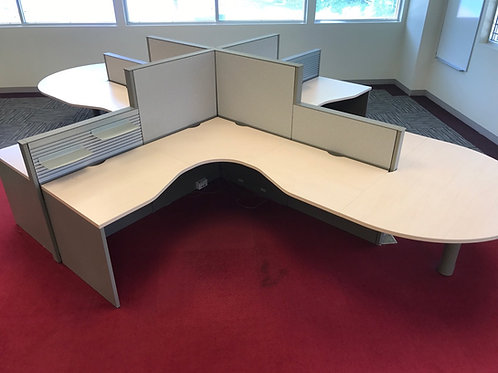 6x6 Open Style Cubicles