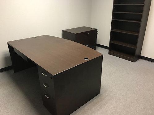"""42"""" Bowfront Desk"""