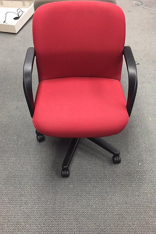 Red Conference Chairs