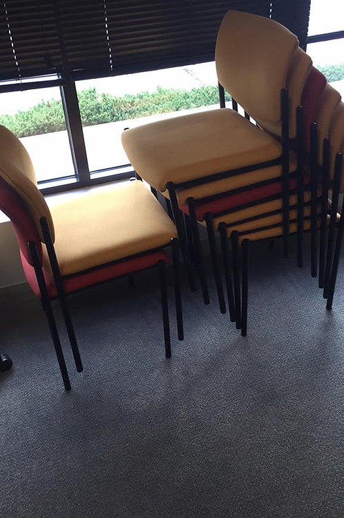 Yellow Stack Side Chairs