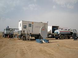 Aquifer testing setup