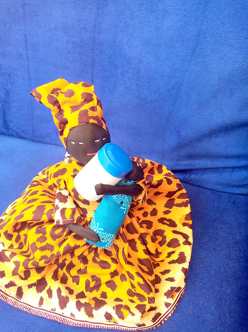 Menthol biologique avec bonus d'une poupée Africaine