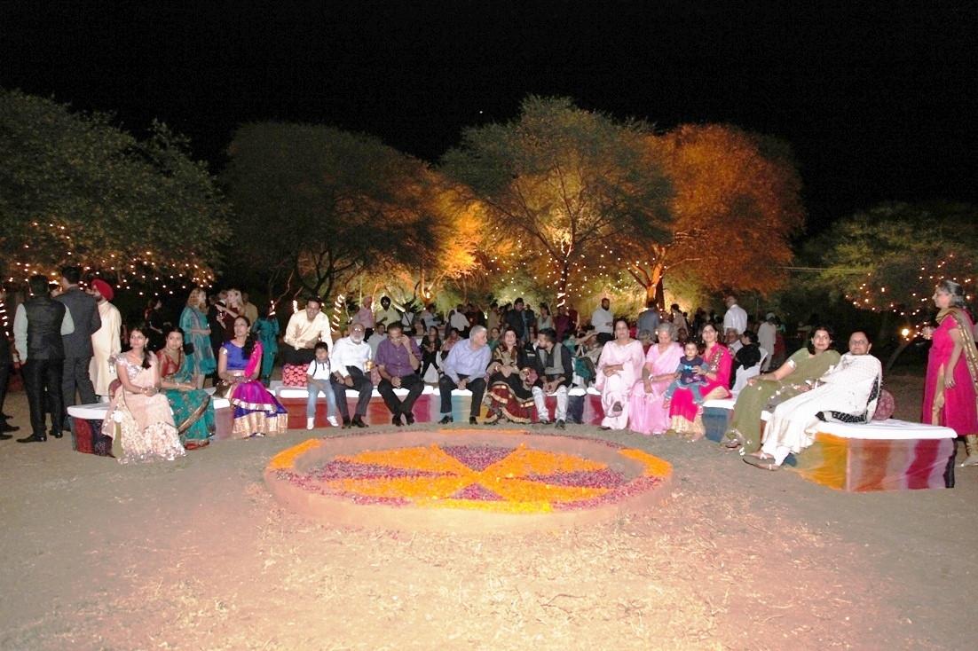 GROUP SEATING AT KHAYYAM.JPG