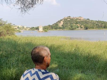 In the lap of gracious luxury on Raghosagar lake