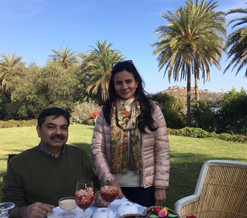 Nitin and Kavita Atroley
