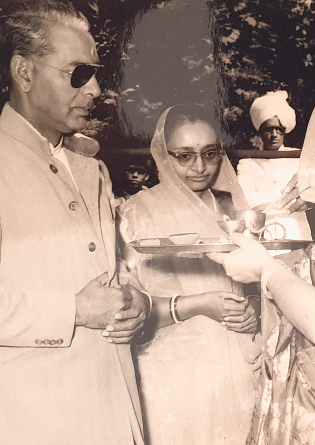 Raja Dhiraj Sudarshan Deo of Shahpura- our mentor and Guru