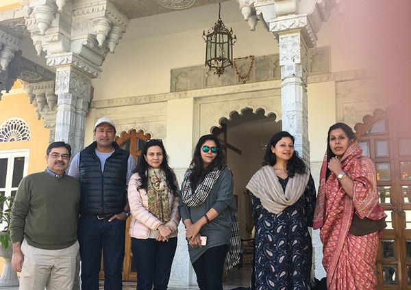 Baiji Lal Jodhpurs Visit with Kunwarani Sahib Sweta Kumari Jodhpur