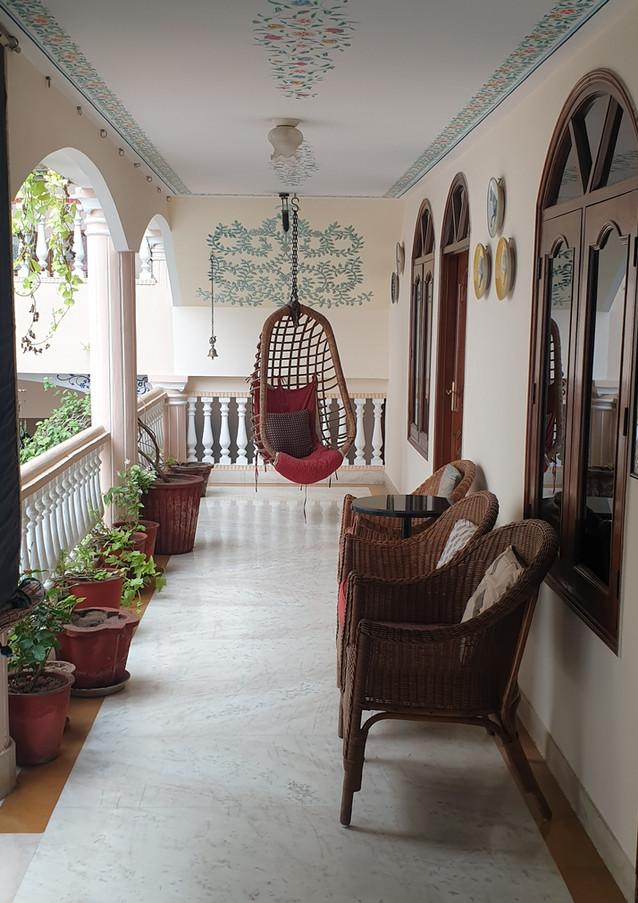 Elegant Corridor, Jas Vilas Jaipur